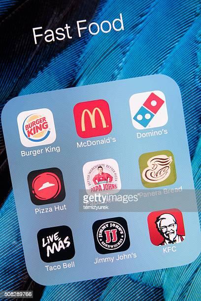 App Veloce Cibo su Apple iPhone e schermo 6s