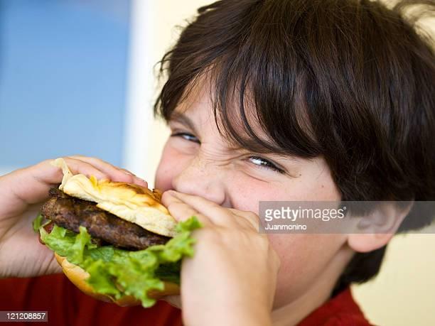 Fast-food-Jungen