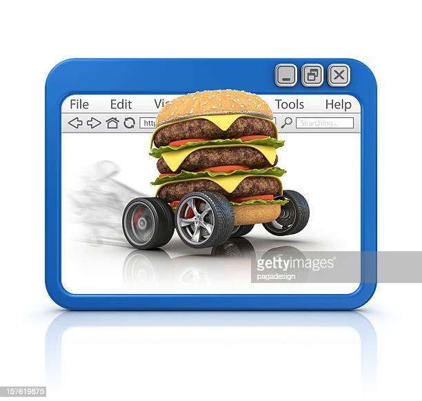 fast food in browser