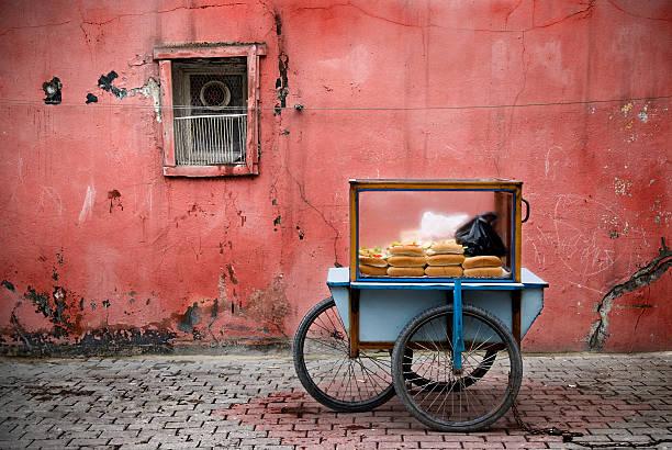 Fast food Istanbul's street