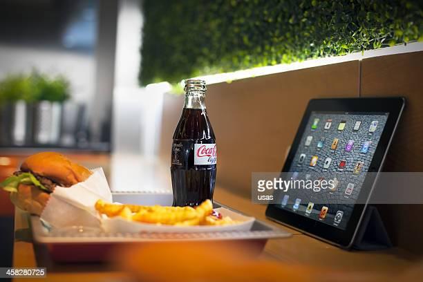 Fast Food Light CocaCola and iPad Retina display