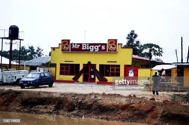Fast food restaurant in Nigeria. Seen in Port Hartcourt.