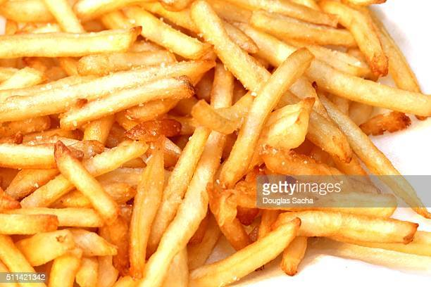 Fast food side dish, shoestring French fries