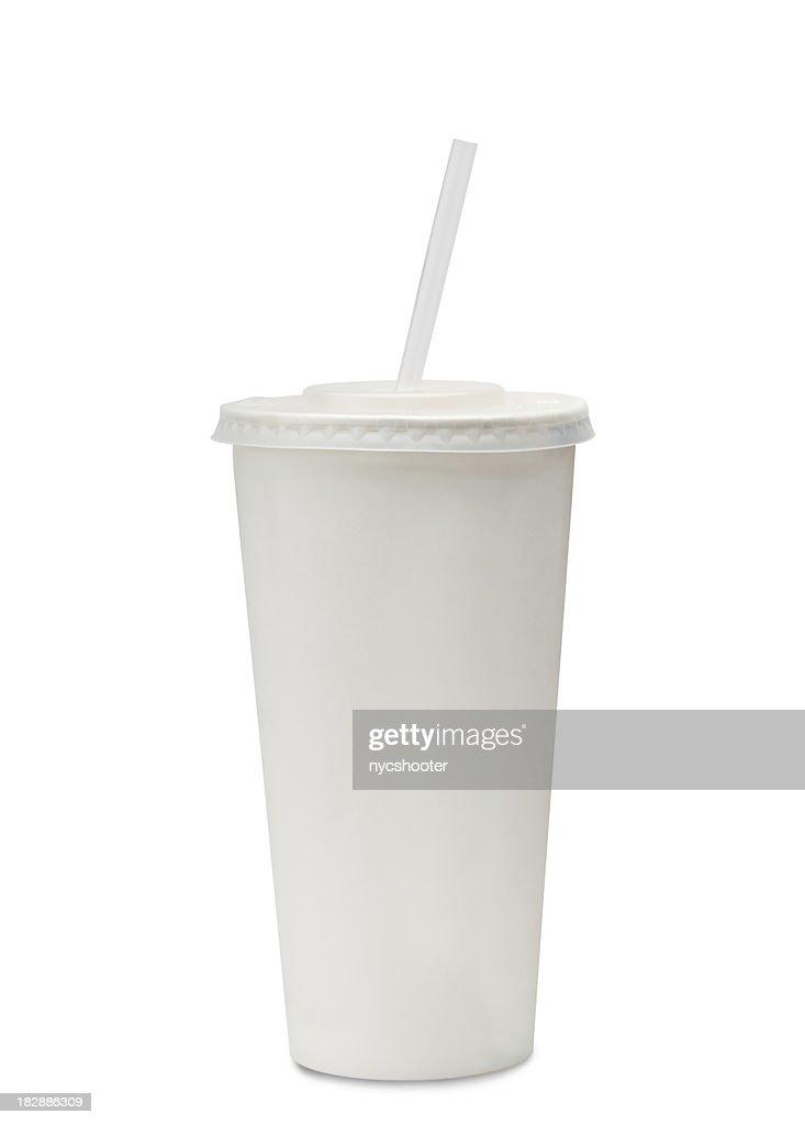 fast food Copo de refrigerante : Foto de stock