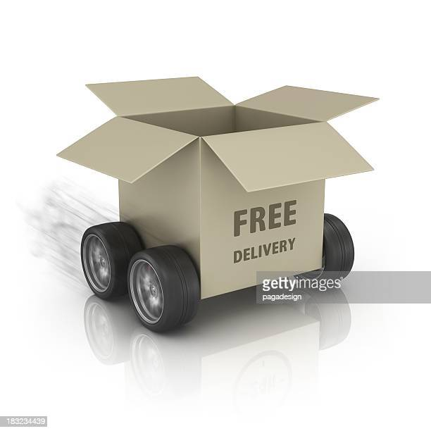 fast free delivery package