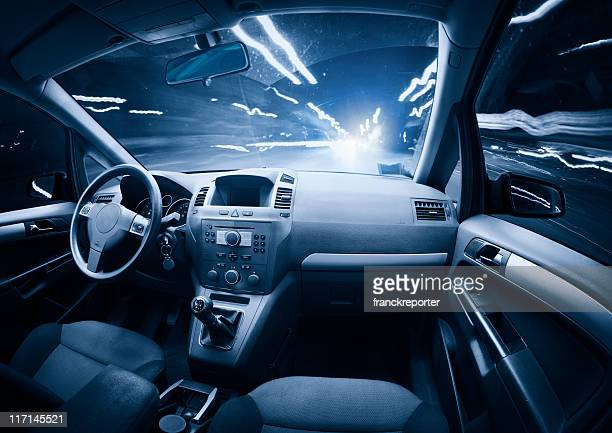 fast ghost car into the light traffic. - help:contents stock pictures, royalty-free photos & images