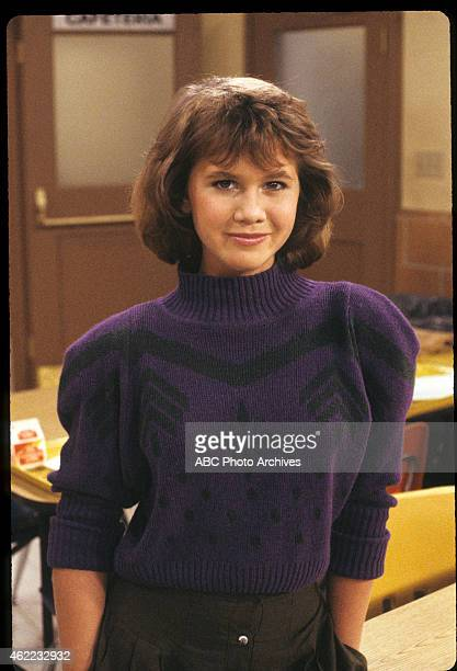 """Fast Times at Dewey High"""" - Airdate: October 21, 1986. TRACEY GOLD"""