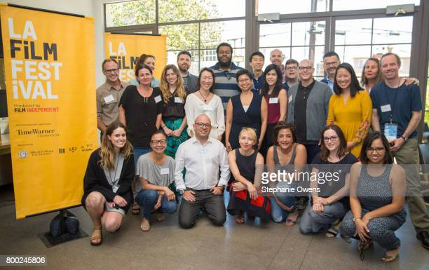 Fast Track Fellows and Film Independent Staff Back row Jeff Bemiss Danielle Krudy Drew Houpt Frederick Thornton Bing Liu Ryan Schwartz Sean Hackett...