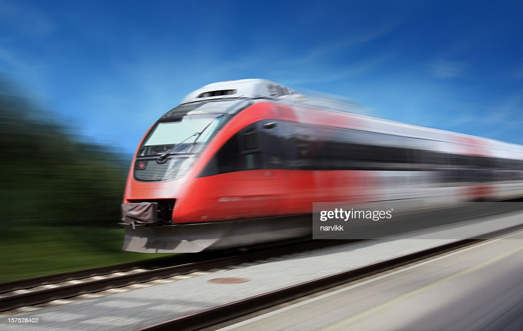 Fast Train : Stock Photo