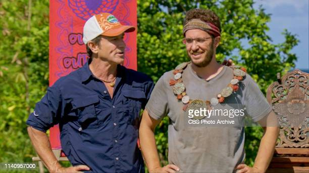Fasten Your Seatbelts Jeff Probst and Rick Devens on the eleventh episode of SURVIVOR Edge of Extinction airing Wednesday April 24th on the CBS...