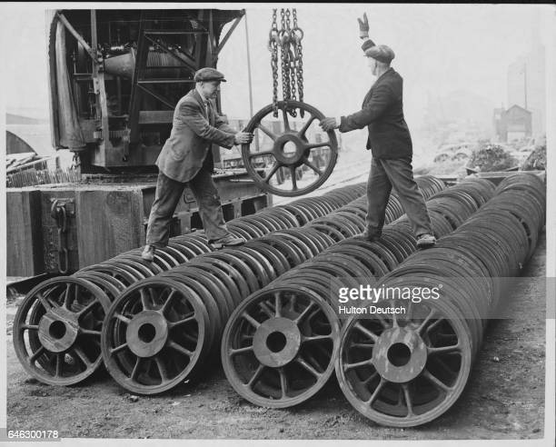 Faster trains are needed to cope with London's rush hour traffic hence the use of a special stronger steel for these wheels so that weight can be...