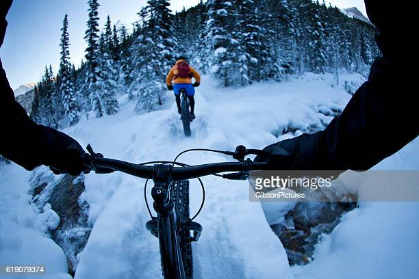 Fat Bike Winter Snow Ride