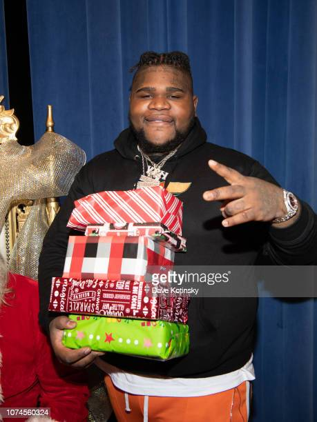 Fat Boy SSE attends the Cesar DJ Envy's 2018 Holiday Toy Giveaway on December 21 2018 in Paterson New Jersey
