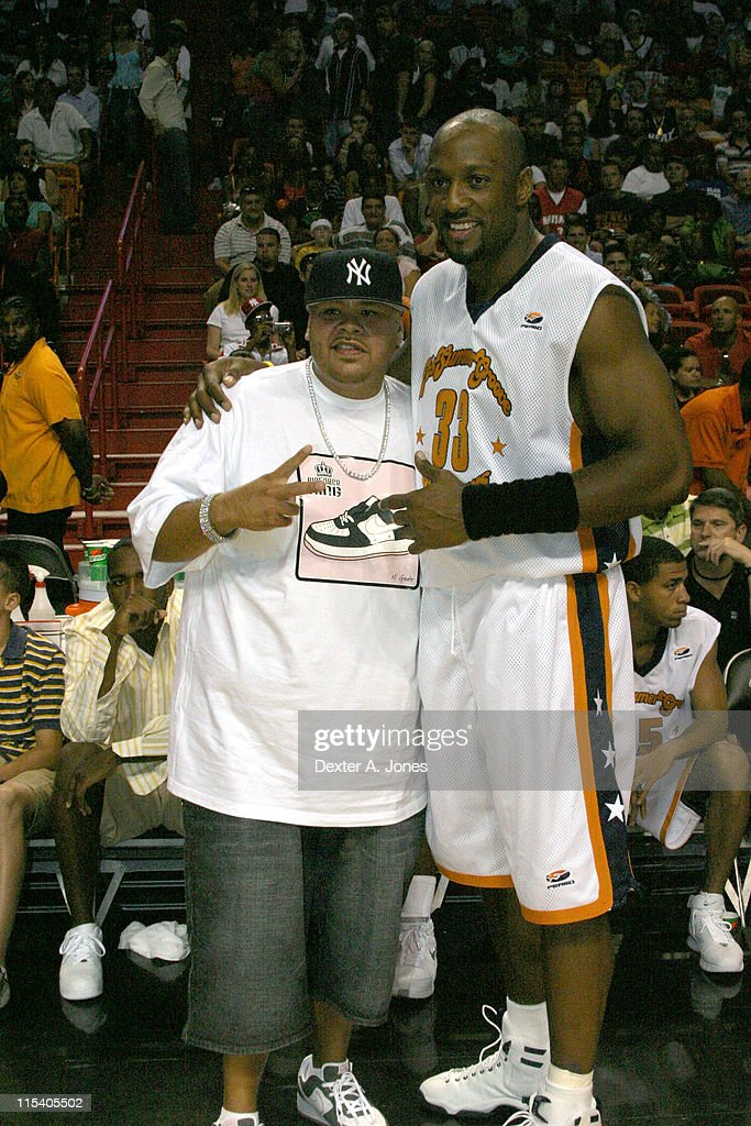 Alonzo Mourning's Summer Groove All Star Basketball Game - July 16, 2005