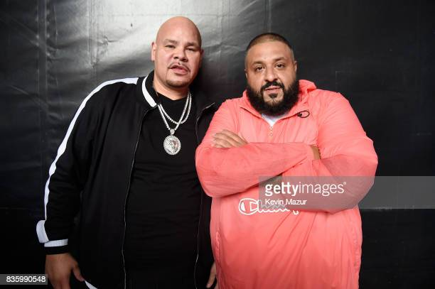 Fat Joe and DJ Khaled attend Day Two of 2017 Billboard Hot 100 Festival at Northwell Health at Jones Beach Theater on August 20 2017 in Wantagh City