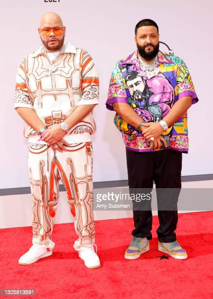 Fat Joe and DJ Khaled attends the BET Awards 2021 at Microsoft Theater on June 27, 2021 in Los Angeles, California.