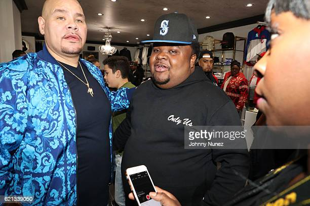 Fat Joe and Fred The Godson attend The Grand Opening Of Fat Joe's Sneaker Boutique and Gallery at UPNYC on November 5, 2016 in New York City.