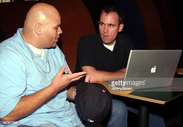 Fat Joe and guest during New Era Design Session with Terror Squad Hat at Carolines in New York City New York United States