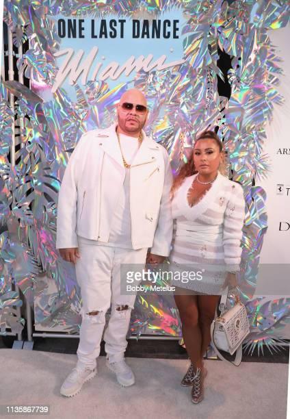 Fat Joe and Lorena Cartagena attend Dwyane Wade's 16 Year NBA Career Celebration Dinner on April 8 2019 in Miami Florida