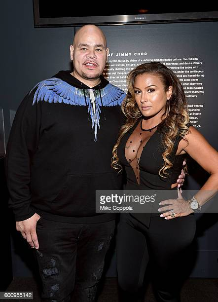 Fat Joe and Lorena Cartagena attend the Nike Kids Rock Cocktails Canapes event during New York Fashion Week The Shows on September 8 2016 in New York...