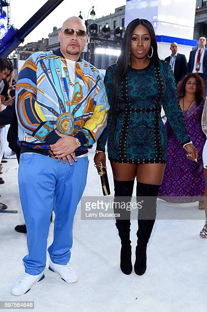 Fat Joe and Remy Ma attend the 2016 MTV Video Music Awards at Madison Square Garden on August 28 2016 in New York City