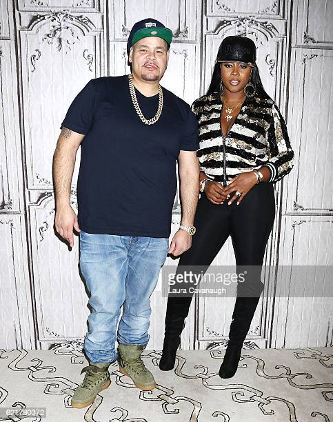 Fat Joe and Remy Ma attend The Build Series Presents to discuss the new Album Plata o Plomo at AOL HQ on November 8 2016 in New York City