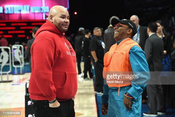 Fat Joe and Spike Lee attend the 2019 State Farm AllStar Saturday Night at Spectrum Center on February 16 2019 in Charlotte North Carolina