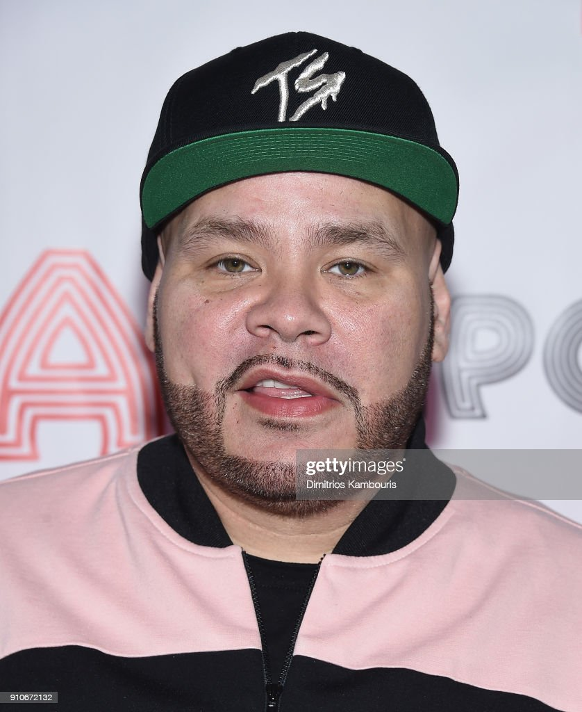 Fat Joe attends Apollo Theater's Pre-Grammy Uptown Luncheon at The Apollo Theater on January 26, 2018 in New York City.