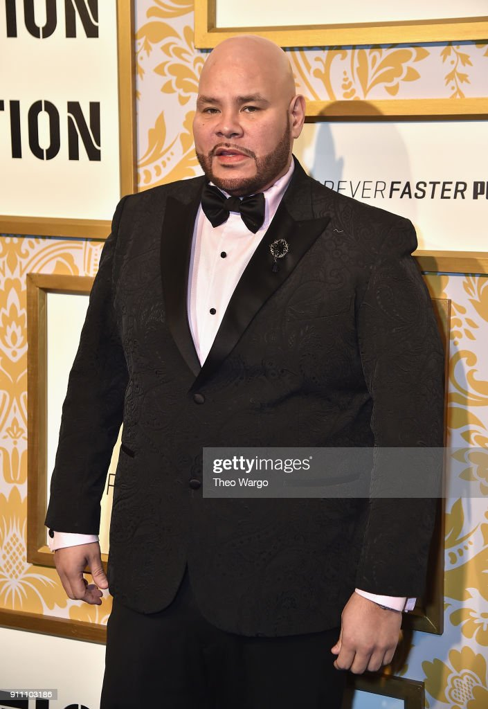 Fat Joe attends Roc Nation THE BRUNCH at One World Observatory on January 27, 2018 in New York City.