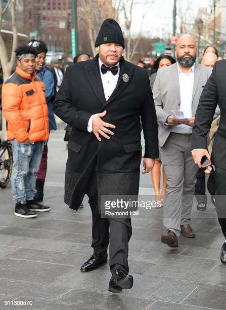 Fat Joe attends Roc Nation THE BRUNCH on January 27 2018 in New York City