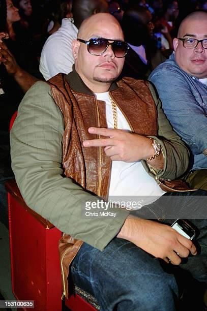 Fat Joe attends the 2012 BET Hip Hop Awards at Boisfeuillet Jones Atlanta Civic Center on September 29, 2012 in Atlanta, Georgia.