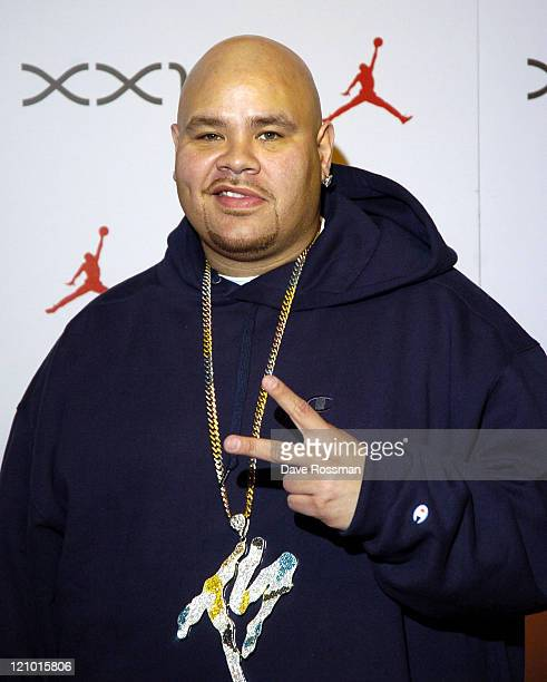 Fat Joe during Air Jordan XXI Launch Event in Houston Texas United States