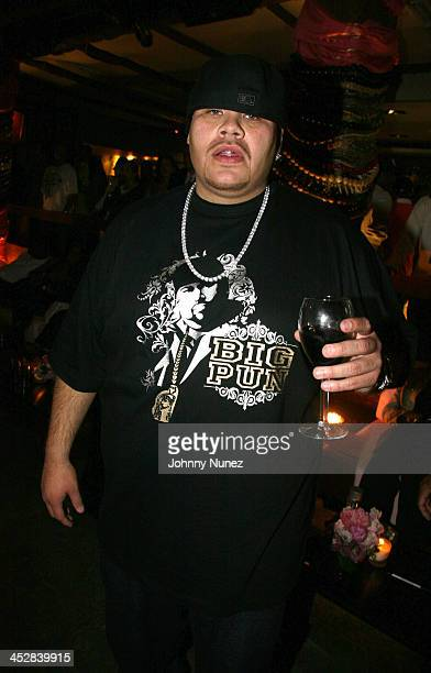 Fat Joe during Baby Shower for Lorena Rios Fat Joe's Wife at Cain in New York New York United States