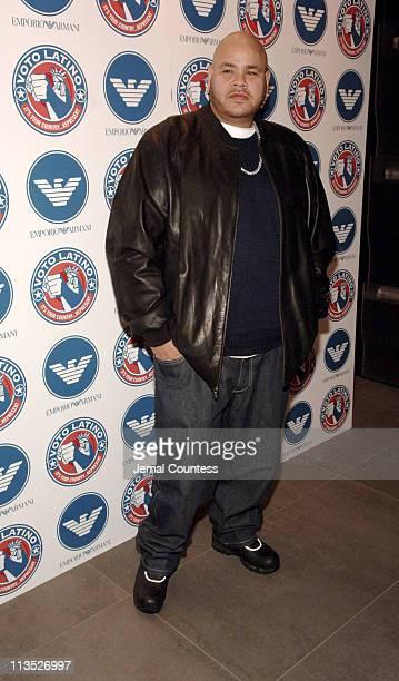 Fat Joe during Emporio Armani and Rosario Dawson Celebrate Voto Latino at Emporio Armani Boutique in New York City, New York, United States.