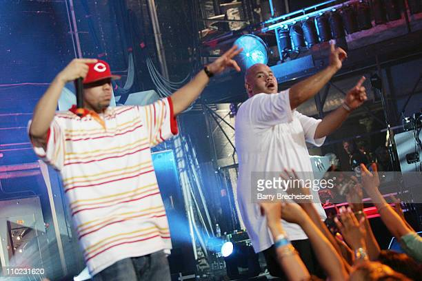 Fat Joe during Fat Joe TI Juvenile Ja Rule and Friends Perform on MTV2's '2$Bill Concert Series' May 26 2005 at Vic Theater in Chicago Illinois...