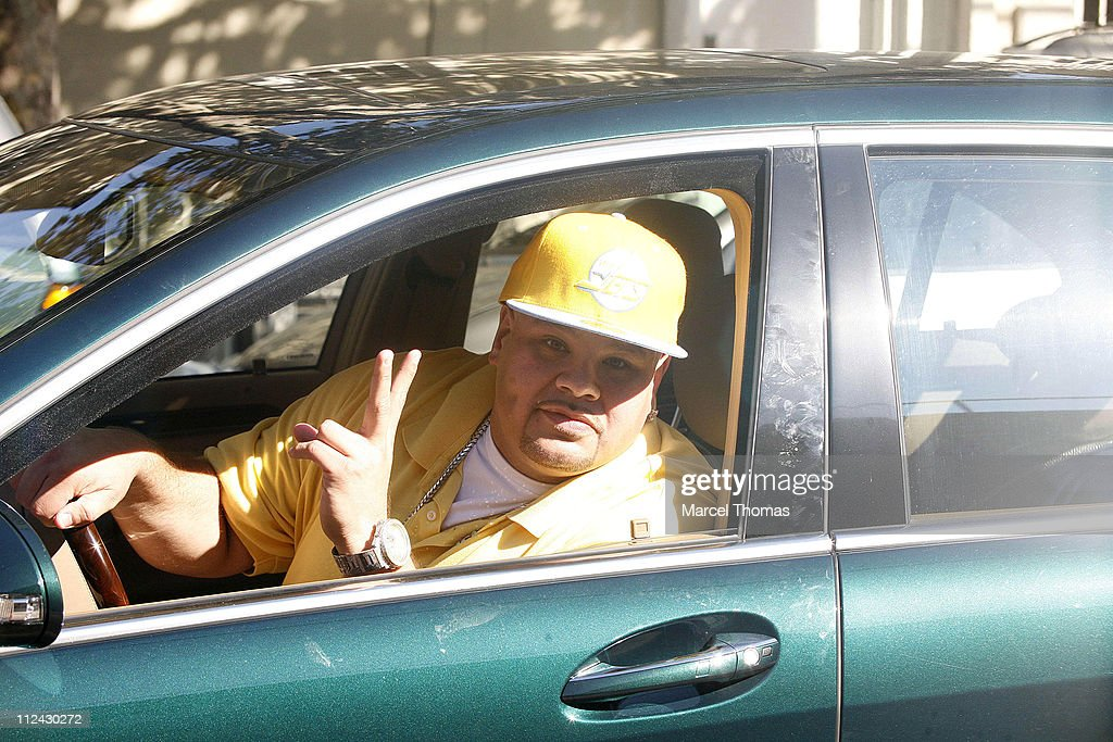 Fat Joe during 'The Sopranos' On Location in New York City - August 21, 2006 at St Rita's Church in New York City, Queens, United States.