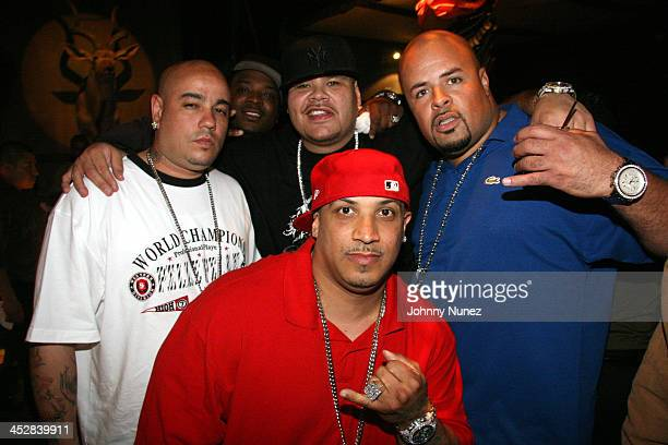 Fat Joe Percy of TS Pistol Pete of TS and Rich of TS