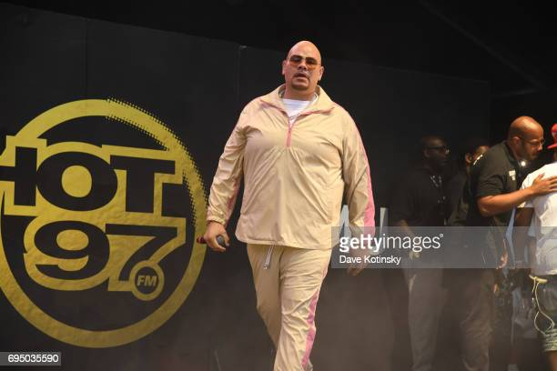 Fat Joe performs at HOT 97 Summer Jam 2017 at MetLife Stadium on June 11 2017 in East Rutherford New Jersey
