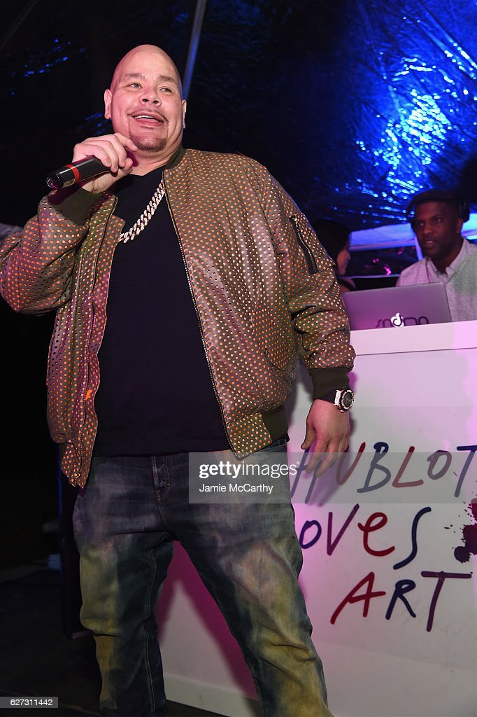 Fat Joe performs on stage at the Hublot after party on December 2, 2016 in Miami Beach, Florida.