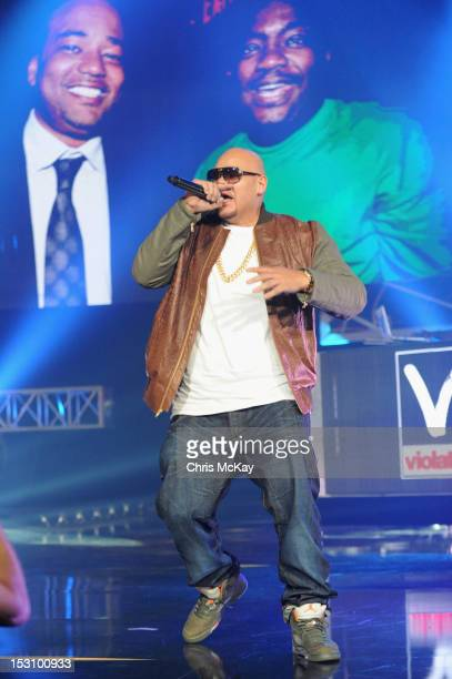 Fat Joe performs onstage at the 2012 BET Hip Hop Awards at Boisfeuillet Jones Atlanta Civic Center on September 29, 2012 in Atlanta, Georgia.
