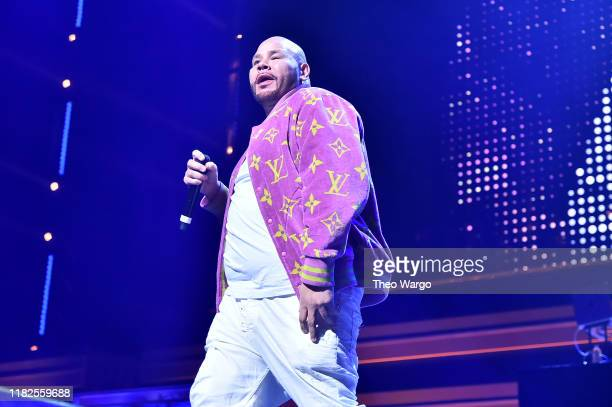 Fat Joe performs onstage with Angelica Vila during the TIDAL's 5th Annual TIDAL X Benefit Concert TIDAL X Rock The Vote At Barclays Center Show at...