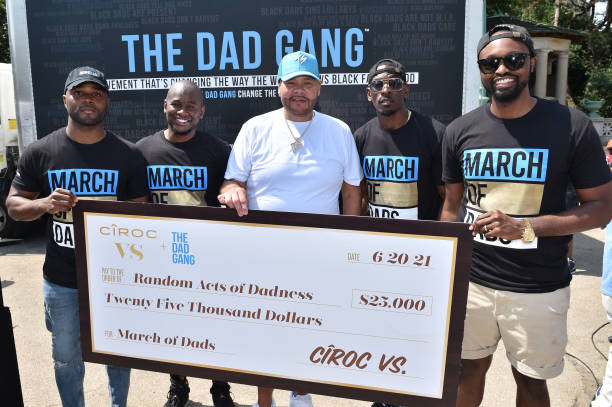 NY: The Dad Gang, CÎROC VS and Fat Joe Celebrate Very Special Father's at the 'March of Dads' in Brooklyn