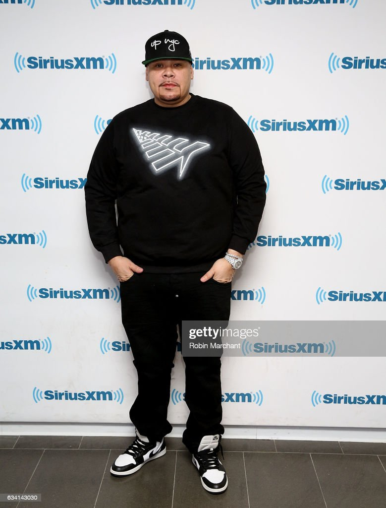 Fat Joe visits at SiriusXM Studios on February 7, 2017 in New York City.