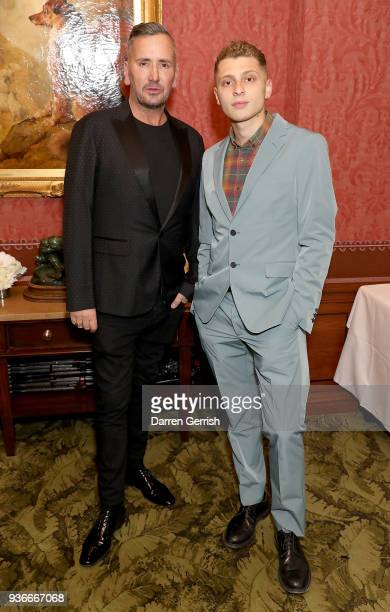Fat Tony and Blondey Mccoy attend as Edward Enninful and Kate Moss celebrate Giovanni Morelli as the new creative director of Stuart Weitzman with a...