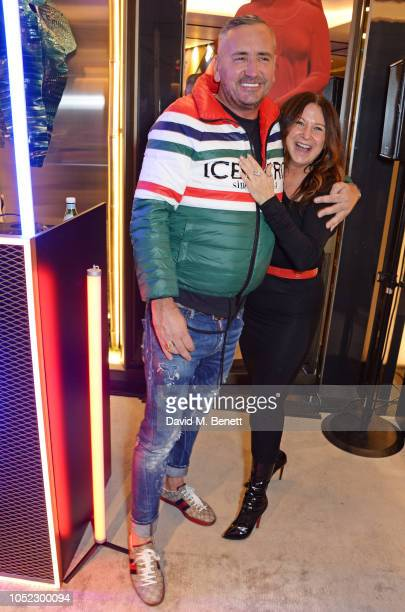 Fat Tony and Fran Cutler attend the FENDI MANIA Collection Launch on October 16 2018 in London England