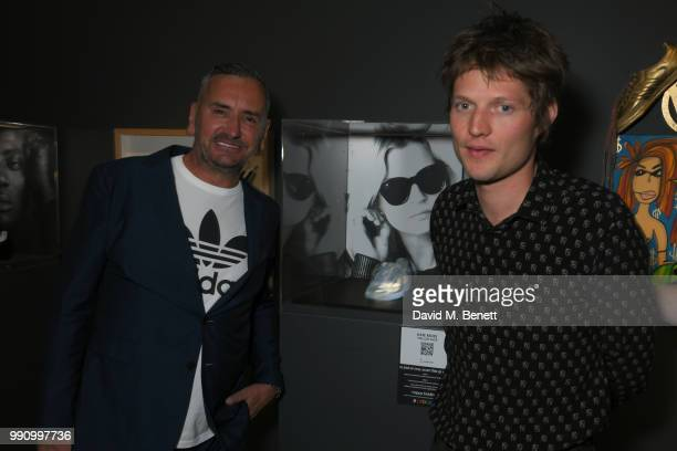 Fat Tony and Nikolai von Bismarck attend adidas 'Prouder' A Fat Tony Project in aid of the Albert Kennedy Trust supporting LGBT youth at Heni Gallery...