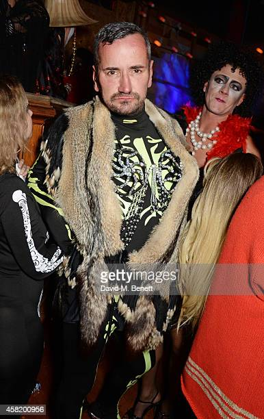 Fat Tony attends 'Death Of A Geisha' hosted by Fran Cutler and Cafe KaiZen with Grey Goose on October 31 2014 in London England