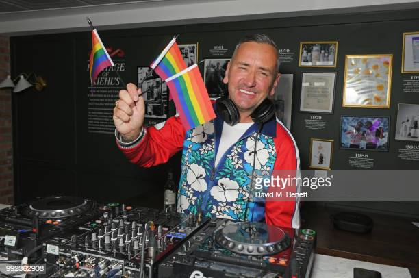 Fat Tony attends Kiehl's 'We Are Proud' party to celebrate Pride on July 5 2018 in London England