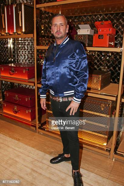 Fat Tony attends Louis Vuittons Celebration of GingerNutz in Vogue's December Issue on November 21 2017 in London England