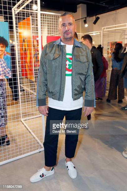 Fat Tony attends the Queer Britain x Levi's 'Chosen Family' photography exhibition launch for Pride in London 2019 on June 24 2019 in London England...